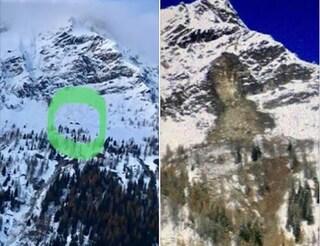 Maltempo a Vercelli, grossa frana si stacca in Val Vogna e raggiunge il fondovalle: gravi danni