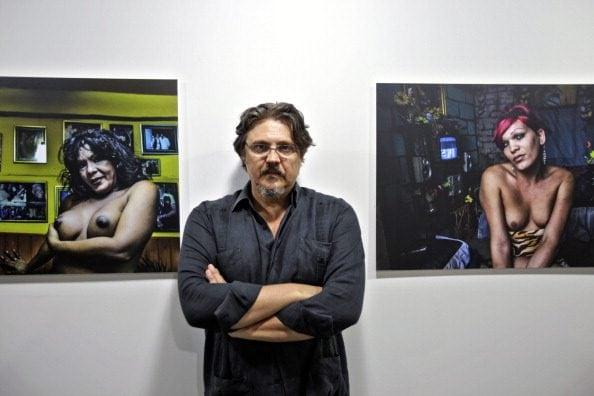 """Il fotografo Paolo Titolo alla mostra """"TRANSlucida"""" de L'Avana, Cuba."""