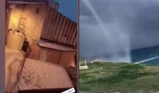 Grandinata e tromba d'aria a Cirò Marina, il sindaco salva gli studenti rimasti chiusi a scuola