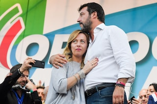 Sondaggi politici, la Lega perde lo 0,2% in un mese: cresce invece Fratelli d'Italia