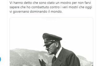 Prof dell'università di Siena elogia Hitler, disposto il sequestro del suo profilo Twitter