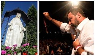 Nemmeno Papa Francesco crede alla Madonna di Medjugorje. Però Matteo Salvini sì