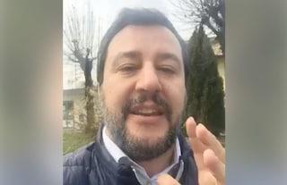 """Salvini controdenuncia Carola Rackete: """"Ragazza viziatella che sperona le navi per divertirsi"""""""