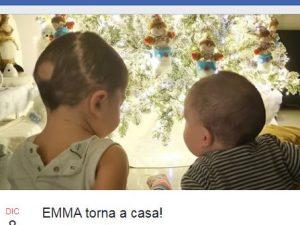 L'evento organizzato dai familiari per festeggiare la piccola Emma