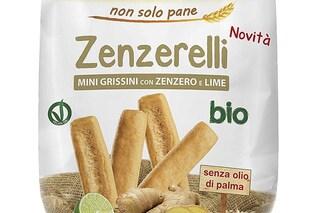 Possibile presenza di senape: ritirati grissini Zenzerelli bio da Coop, Simply, Auchan e Carrefour