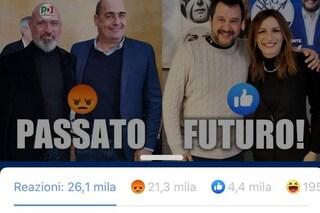 Regionali Emilia-Romagna, Borgonzoni lancia sondaggio e i suoi fan preferiscono Bonaccini a lei