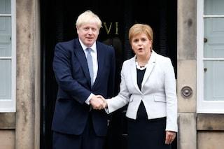 Gran Bretagna, Johnson dice no a un nuovo referendum per l'indipendenza della Scozia