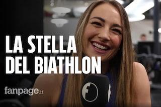"""Dorothea Wierer, la stella del biathlon a Fanpage.it: """"Mille ore di allenamento e una valigia"""""""