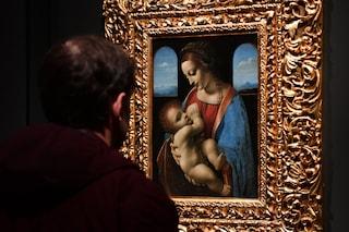 A Milano la Madonna Litta di Leonardo da Vinci, dall'Hermitage dopo 30 anni