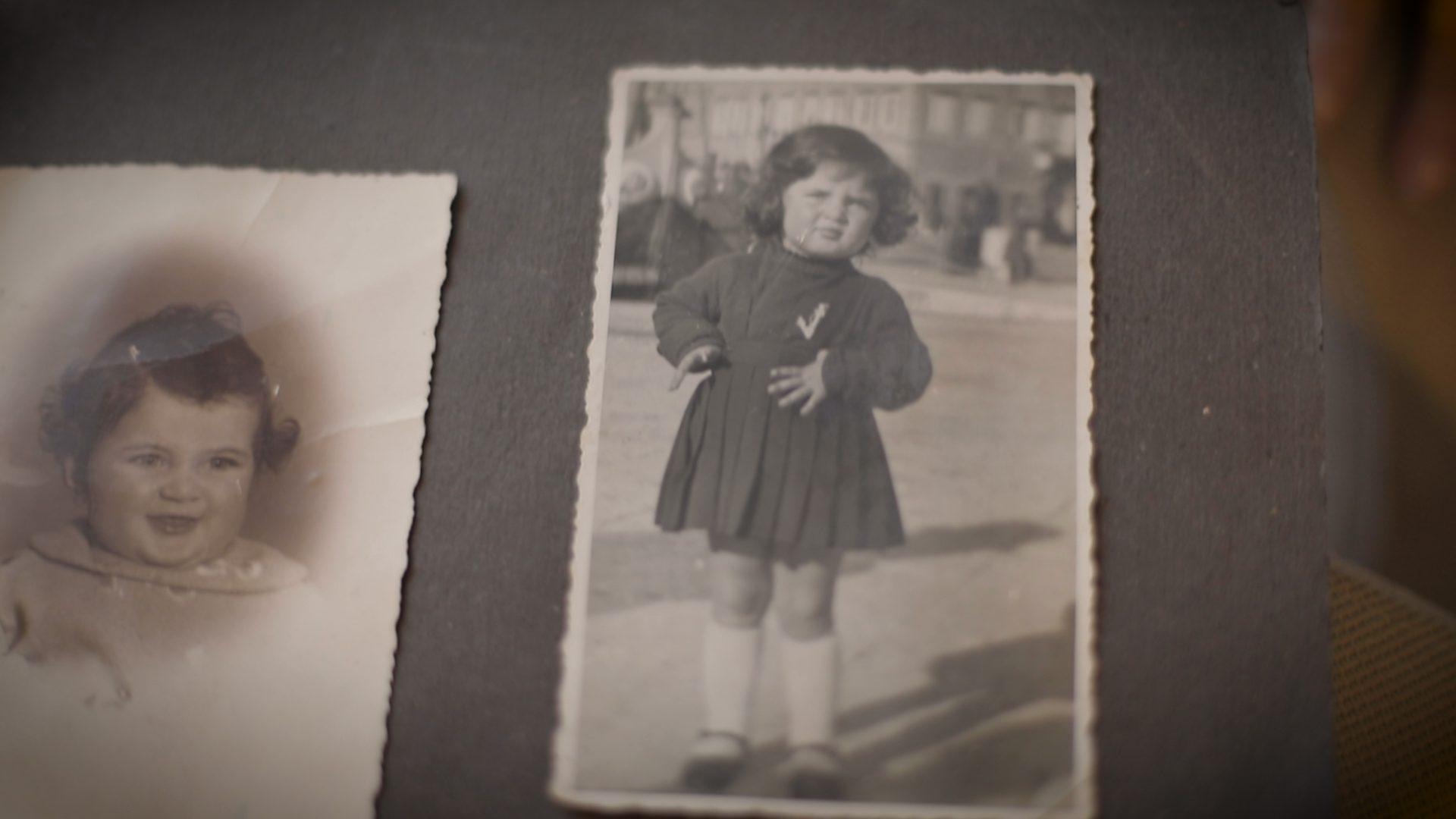 Kitty Braun da bambina