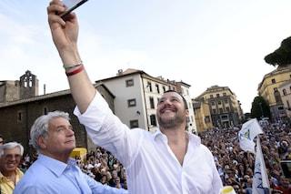 """Referendum taglio parlamentari, Salvini: """"Così si avvicinano le elezioni e il governo va a casa"""""""
