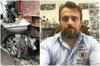 Incidente a Perugia, auto contro camion: Massimo muore schiacciato tra le lamiere a 43 anni
