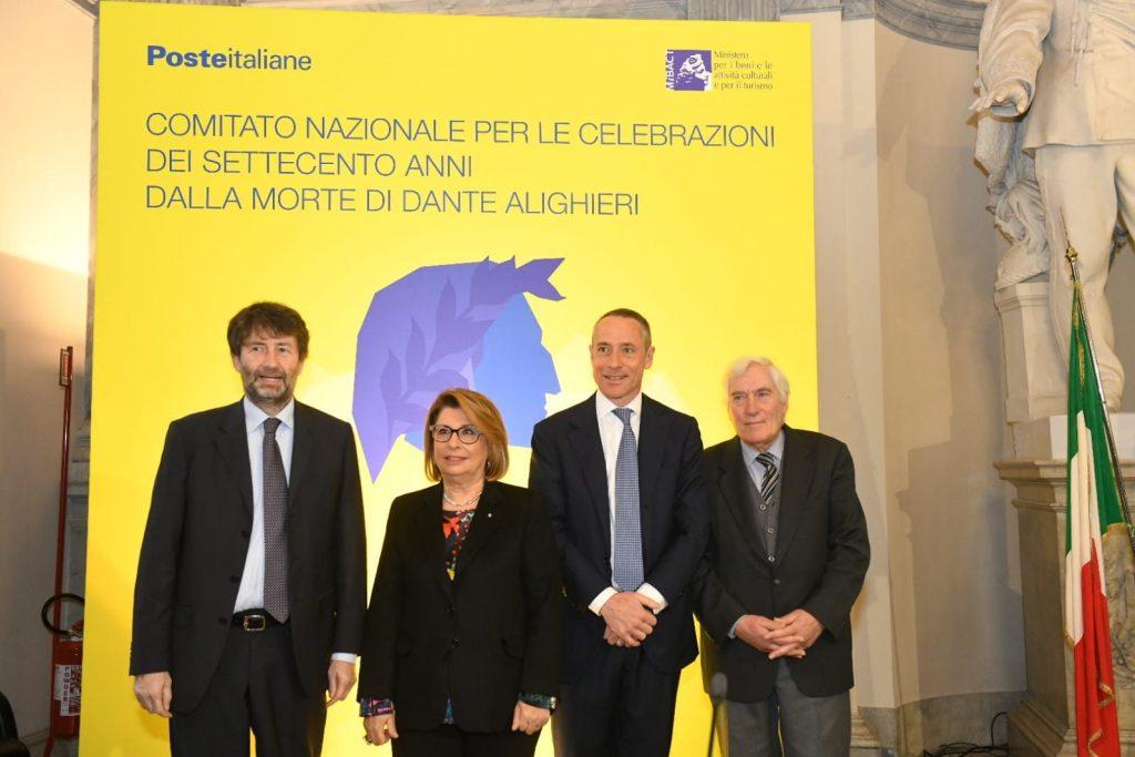 La collaborazione di Poste Italiane all'anniversario dantesco del 2021 è stata annunciata lo scorso ottobre.