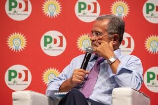 """Prodi: """"Il Pd non può essere un club esclusivo, bisogna ricucire il rapporto con la gente"""""""