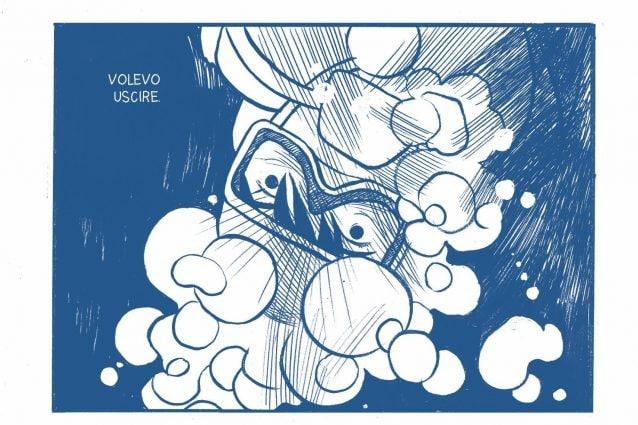 Blue Monday: Alessandro Baronciani presenta Quando tutto diventò blu