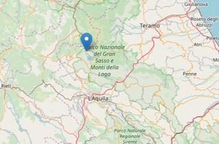 Terremoto vicino L'Aquila, scossa di magnitudo 3 a Campotosto