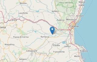 Terremoto nella notte a Catania, scossa di magnitudo 3.1