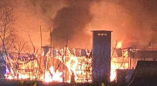 Incendio Cesena, rogo devasta lo stabilimento di Lucchi & Campomaggi