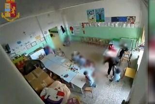 Matera, l'asilo degli orrori. Schiaffi, urla e punizioni ai bimbi: terrorizzati anche a casa