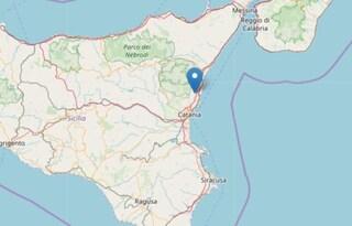 Trema la terra in Sicilia, terremoto di 2.5M avvertito a Catania e Acireale