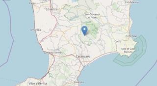 Terremoto in Calabria, scossa di magnitudo 2.9 all'alba nel Catanzarese
