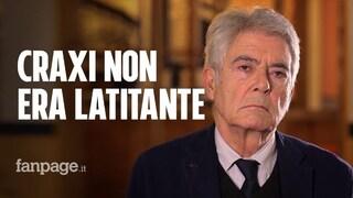 """Craxi, parla Martelli: """"Era di sinistra. Ma non voterebbe mai il Pd di Prodi e degli ex comunisti"""""""