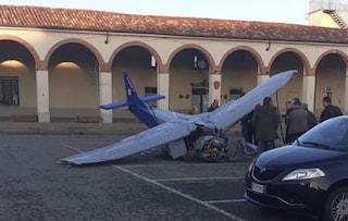 """Schianto ultraleggero, l'ultimo volo di Frigo nella sua piazza: """"Te ne vai facendo ciò che amavi"""""""