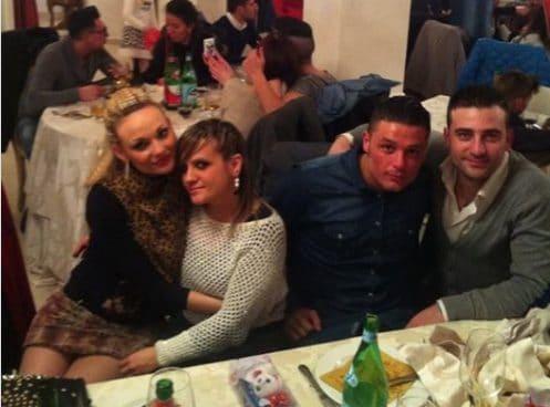 Da destra, Annamaria, Daniela, Salvatore e Paolo