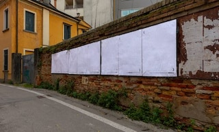 """Treviso, ecco l'imbianchino anonimo che copre le pubblicità: """"Città giungla di manifesti"""""""
