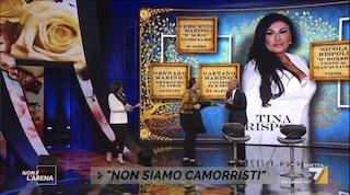 Tutte le bugie raccontate da Tony Colombo e Tina Rispoli a Non è L'Arena di Giletti