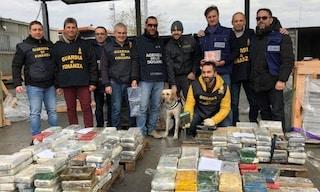 La Spezia, sequestrati 333 kg di cocaina nascosta tra lastre di granito arrivate dal Brasile