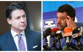 """Salvini sfida Conte sul reddito di cittadinanza: """"Dobbiamo assolutamente cancellarlo"""""""
