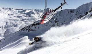 Aosta: impigliato nell'elicottero, maestro di sci muore dopo caduta di 400 metri