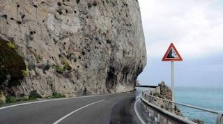 Liguria, drone rileva una frana pericolosa. La via Aurelia rischia di crollare