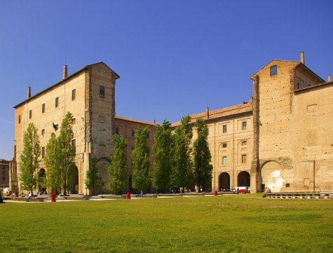 Il complesso monumentale della Pilotta, a Parma.