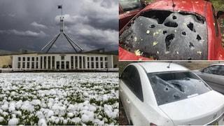 Australia, dopo i roghi è allerta tempeste: grandine come palle da golf, danni e feriti