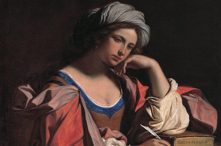"""Guercino, """"Sibilla Persica"""" (1647)."""
