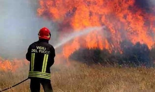 Potenza, incendio delle sterpaglie va fuori controllo: uomo muore avvolto tra le fiamme