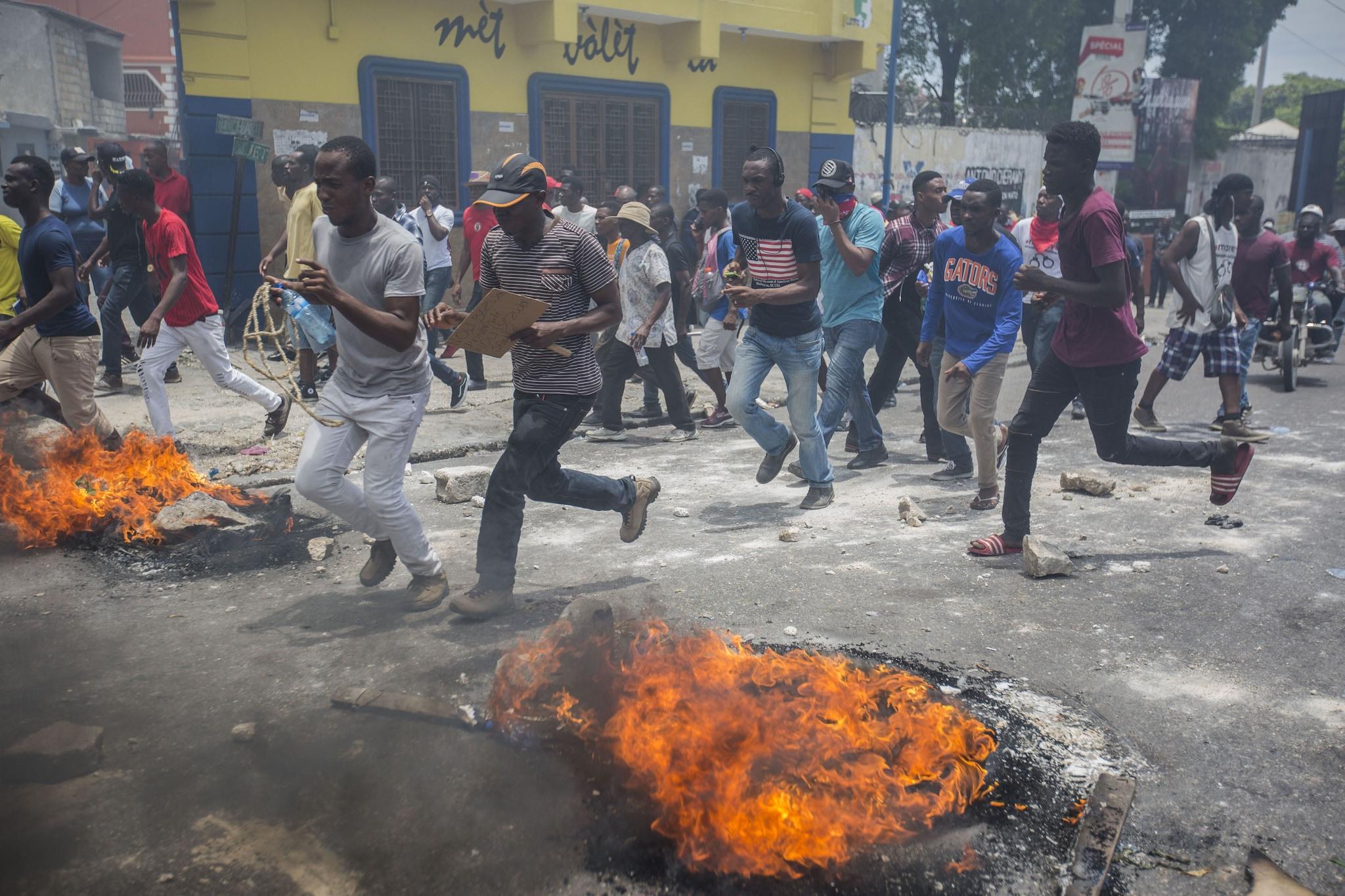 Ad Haiti, gli ultimi mesi del 2019 sono stati contrassegnati da violenti disordini (Jeanty Junior Augustin/Msf)