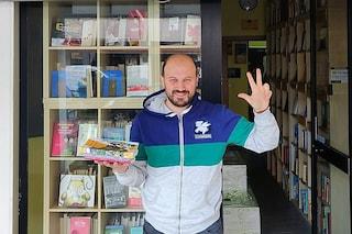 """""""Ogni 3 pezzi di plastica, un libro in omaggio"""": libreria di Scampia per l'ambiente"""