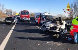Militare USA lo tampona in autostrada: uomo di 86 anni si ribalta e muore