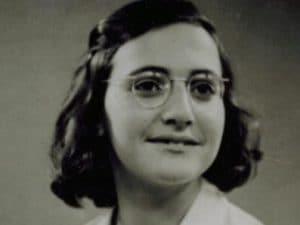 Margot Frank, sorella di Anna.