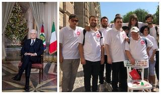 Chi sono i ragazzi che hanno regalato la sedia a Mattarella: down, disabili e autistici