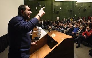 """Salvini cambia linea: """"Pd e 5s chiedono rinvio voto su Gregoretti per non perdere le elezioni"""""""