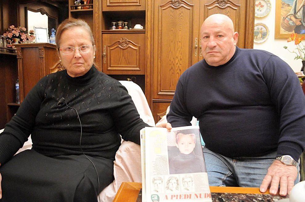 I genitori di Mauro Romano