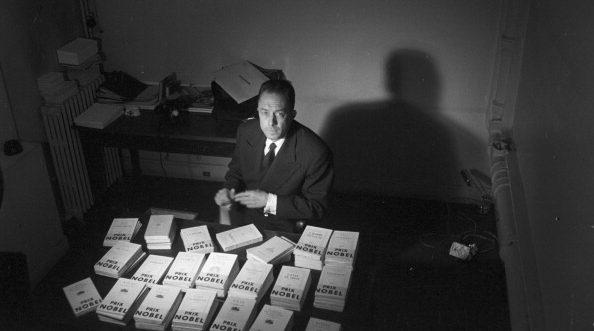 Albert Camus vinse il Premio Nobel per la letteratura nel 1957.