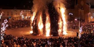 Panevin, troppi roghi all'Epifania: scatta allerta polveri sottili in Veneto, stop alle auto