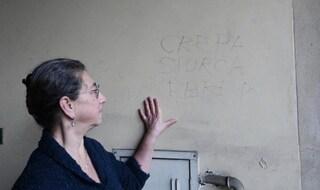 """""""Crepa ebrea"""", Maria Bigliani non cancellerà la scritta antisemita: """"Sarà una testimonianza"""""""