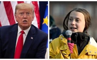 """A Davos va in scena lo scontro Greta-Trump: presidente Usa si scaglia contro i """"profeti di sventura"""""""