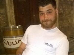 Valerio Amatizi, 26 anni (Facebook).